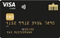 Deutschland-Kreditkarte Gold