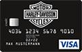 Harley-Davidson Visa Chrome Card