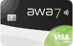 awa7® - awa7® Visa Karte